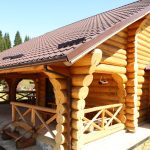 Log Home – Case din lemn rotund