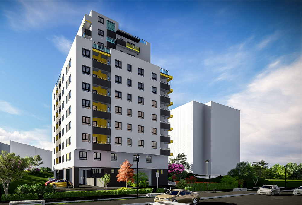 Ansamblu Rezidential Fusion Towers